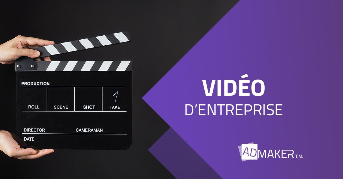 Créer une vidéo pour votre entreprise
