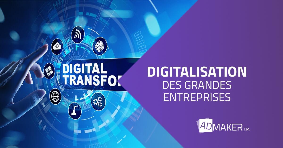 Panorama sur la digitalisation des entreprises