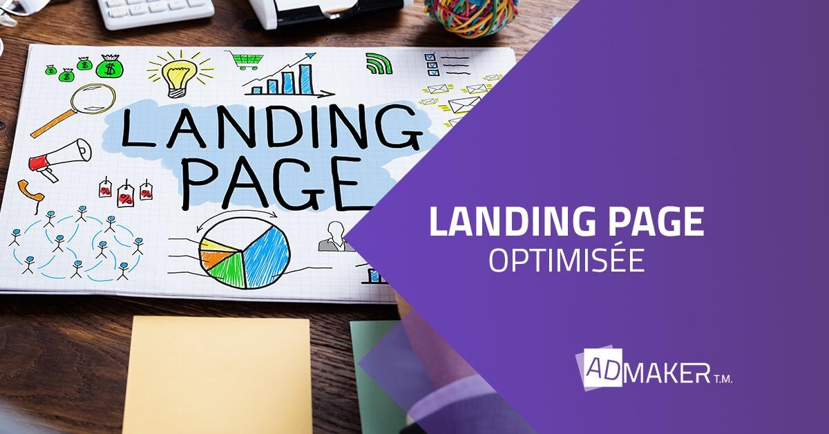 landing page optimisée