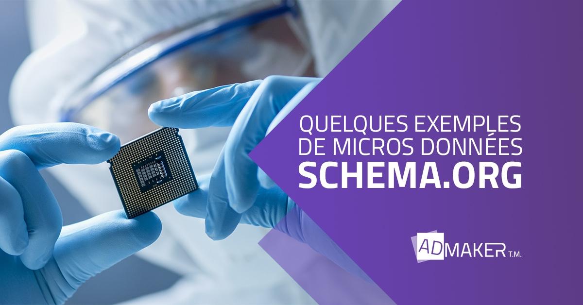 admaker agence digitale image à la une quelques exemples de micros données schema.org