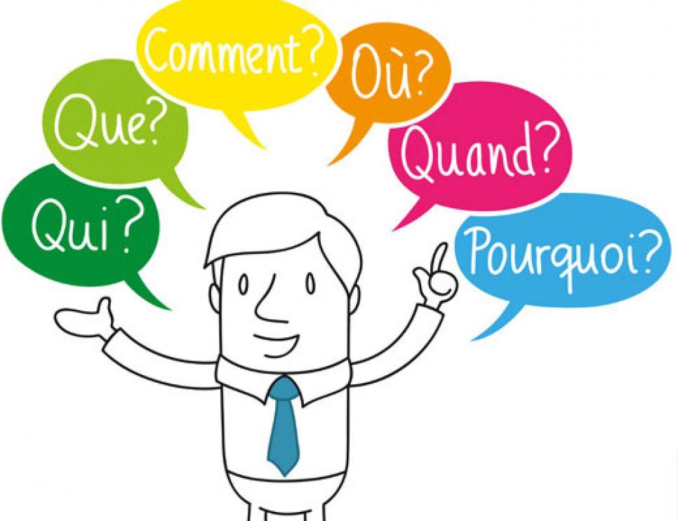 énumération de questions à se poser pour bien rédiger pour le web