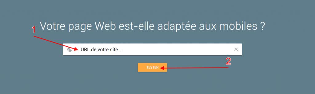 étapes pour vérifier la compatibilité mobile friendly de son site avec l'outil de Google