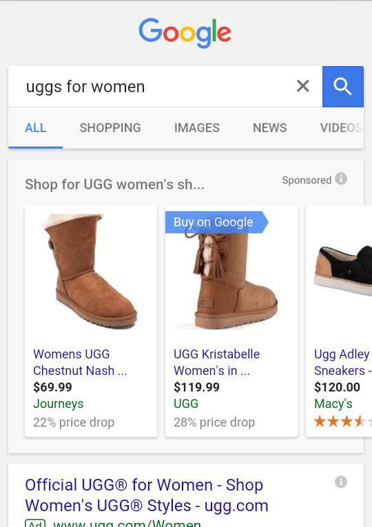 exemple d'annonce achat sur google