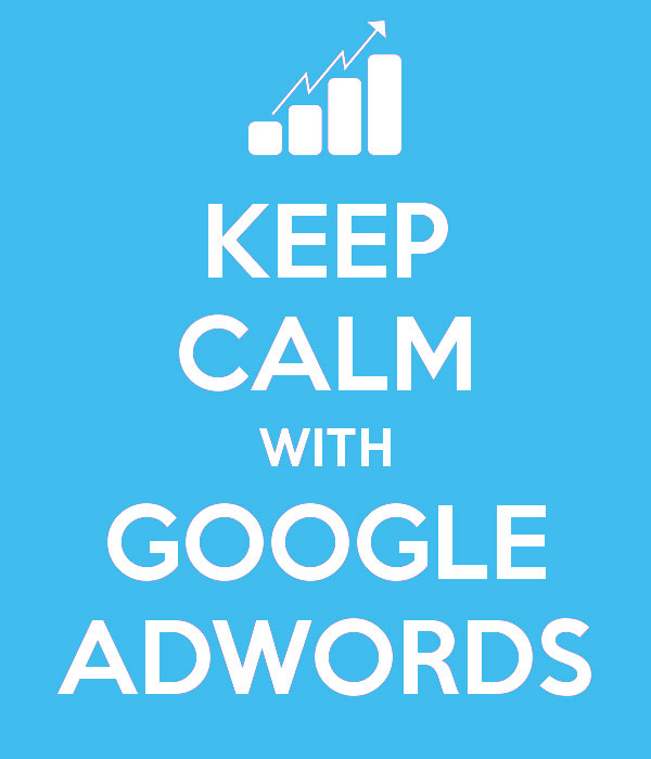 keep calm with google adwords