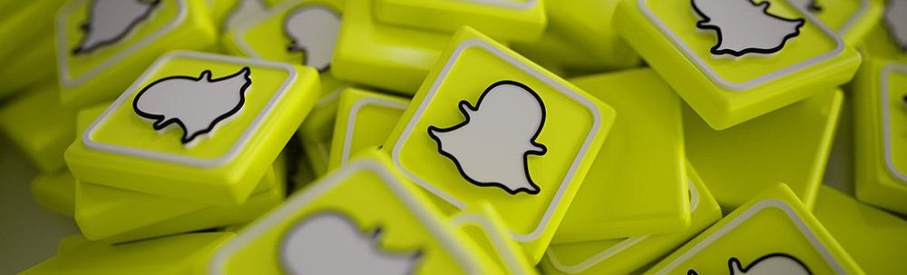 logo du reseau social snapchat