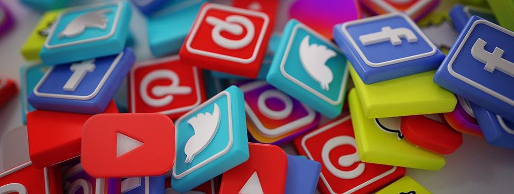 logos des plus gros réseaux sociaux en 2018