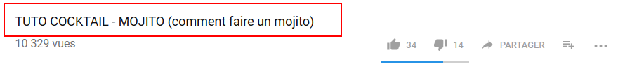 Le titre de votre vidéo youtube : premier critère de référencement