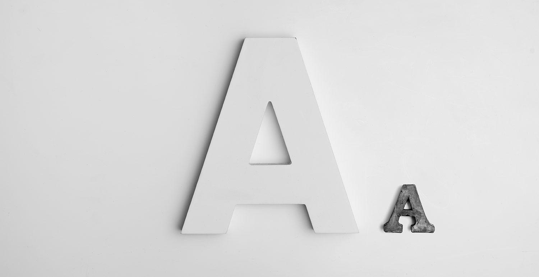 admaker agence digitale identité visuelle typographie