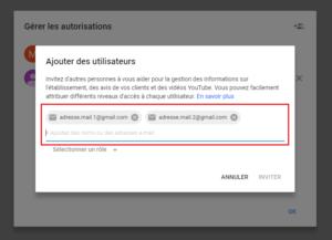 agence digitale admaker Ajouter des utilisateurs à votre fiche Google My Business étape 3