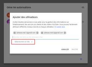 agence digitale admaker Ajouter des utilisateurs à votre fiche Google My Business étape 4