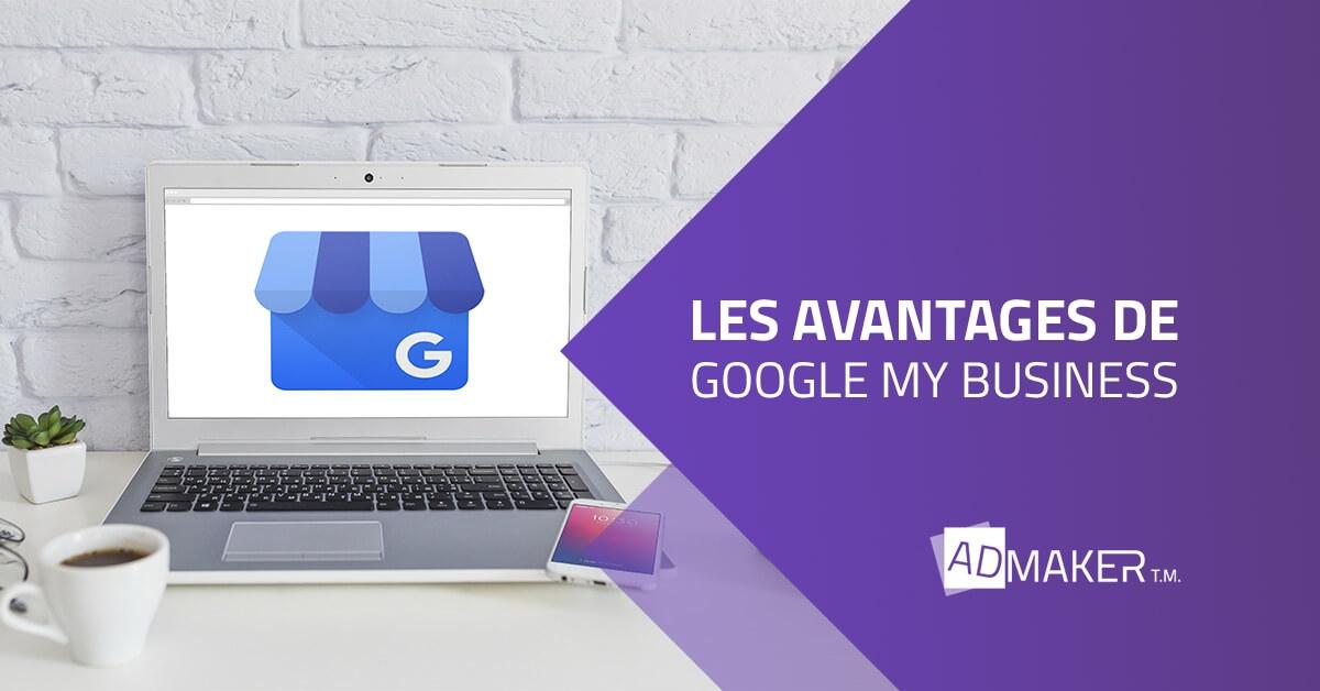 admaker agence digitale image à la une Quels sont les avantages de Google My Business ?