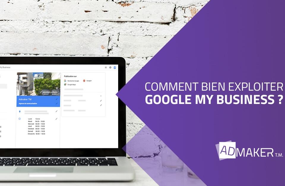 admaker agence digitale image à la une Comment bien exploiter Google My Business ?