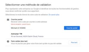 agence digitale admaker guide pour créer une fiche google my business - étape 9