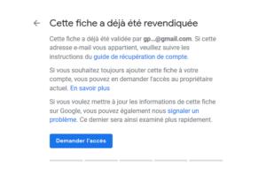 agence digitale admaker recupérer les droits de votre fiche google my business étape 4