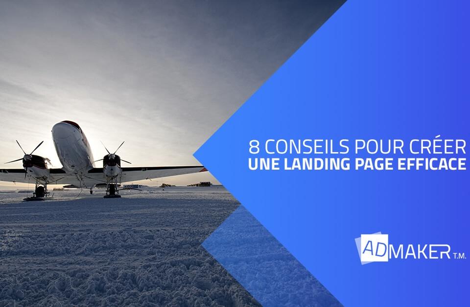 admaker agence digitale image à la une 8 sonceils pour créer une landing page efficace