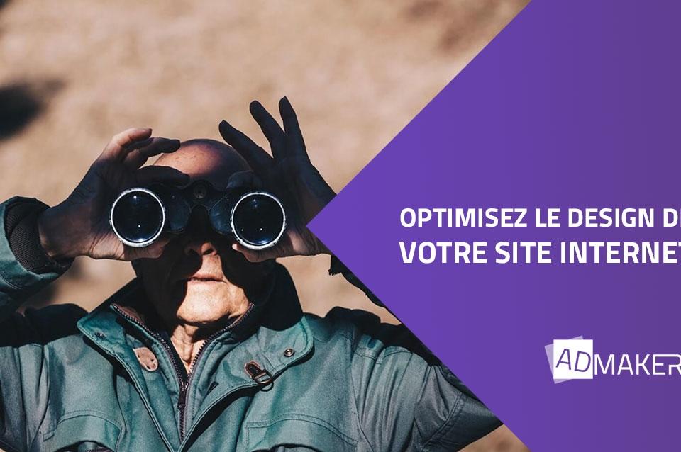 optimiser le design de votre site internet