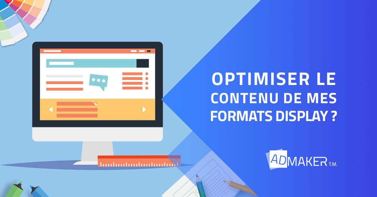 Optimiser le contenu de mes formats Display ?